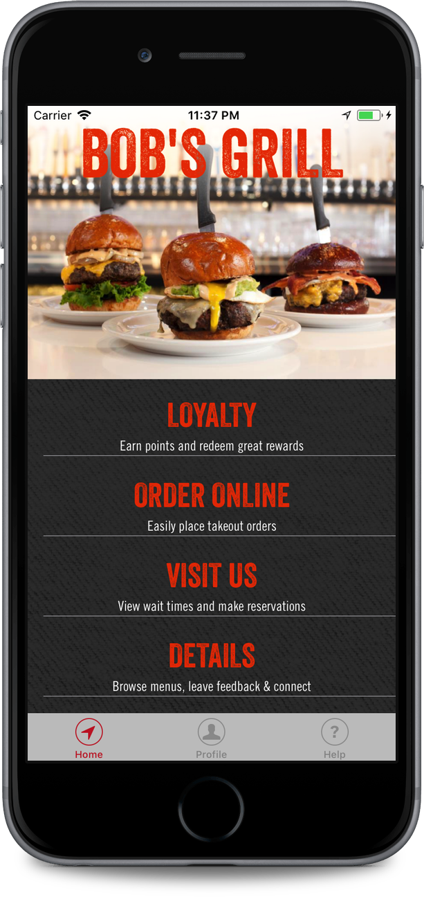Mobile Friendly Restaurant Loyalty & Rewards Program With No Card Required
